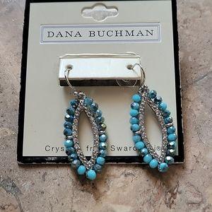 💚2/$20💚 Dana Buchman Swarovski earrings